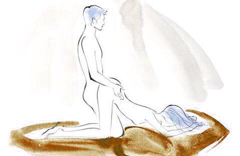 أوضاع جنسية وضعية قفزة الضفدع